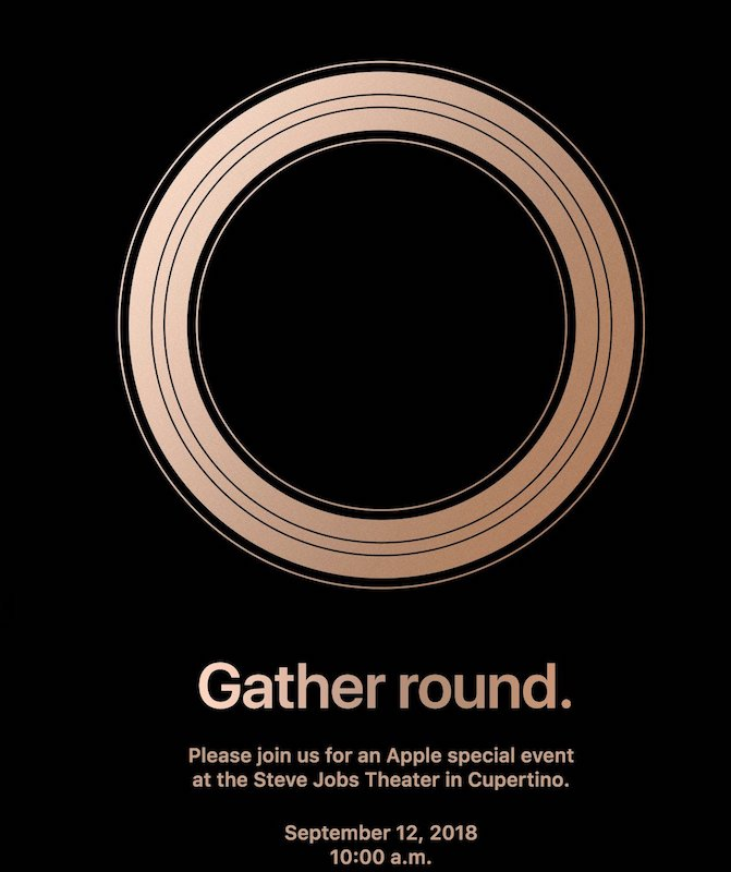 Apple-Invitation-Keynote-12-Septembre-2018