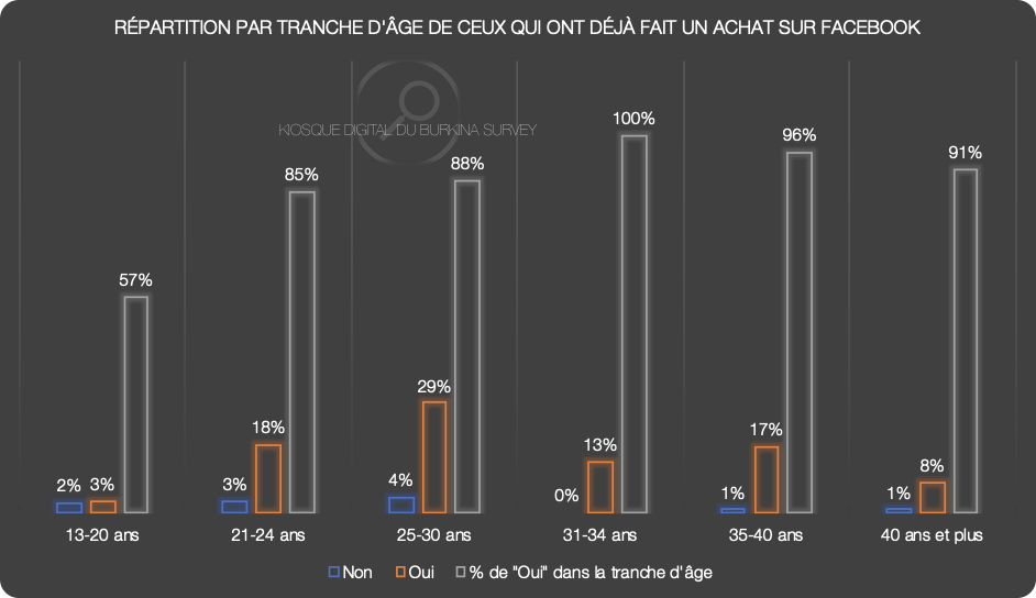 Kiosque Digital du Burkina Survey - January 2020